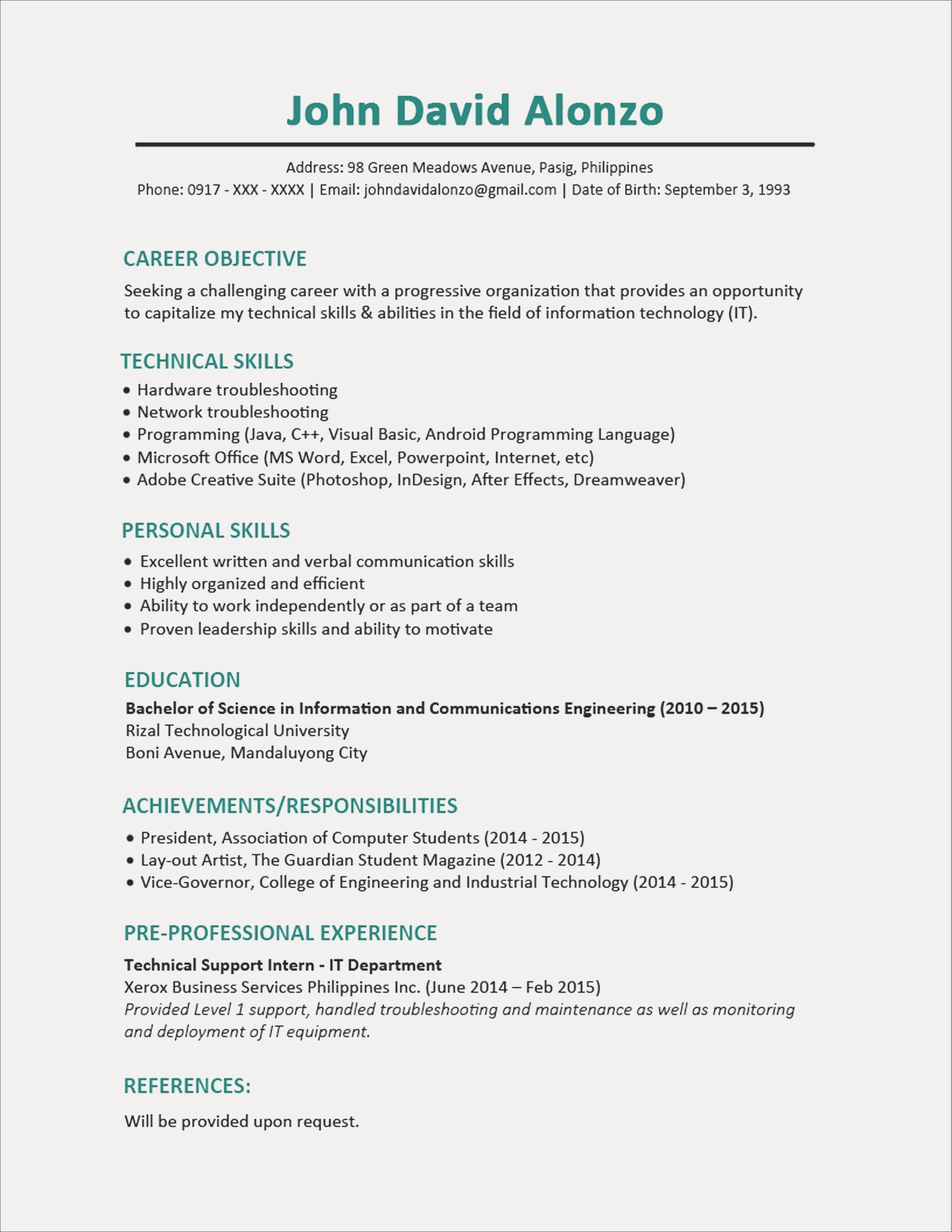 computer hardware skills for resume Collection-munication Skills for Resume Customer Service Resume Sample Beautiful Resume Examples 0d Skills 85 Exotic 13-p