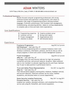 Computer Science Careers Resume - 30 Resume for Puter Science