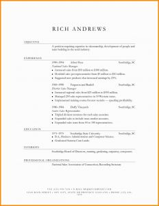 Computer Science Resume - New Puter Science Resume Example Cv Resume