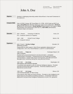 Computer Tech Resume Template - Sample Resume Pharmacist Save Pharmacy Tech Resume Template Fresh