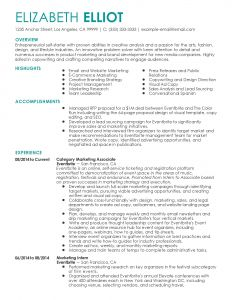 Copywriter Resume Template - 17 Luxury Resume Template for Pages