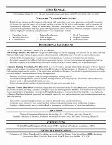 Corporate Resume - Sample Resume Customer Service Best Unique Examples Resumes