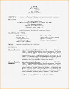 Cosmetologist Resume Template - Pharmacy Tech Resume Lovely Cosmetologist Resume Template