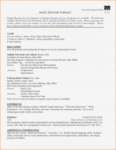 Counseling Resume Template - Sample Counseling Resume