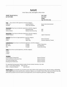Credit Union Resume - Career Focus Resume Example New Whats A Resume for A Job Luxury