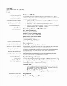 Cs Resume - Wordperfect Templates Inspirational Cs Resume Template Best Reusme