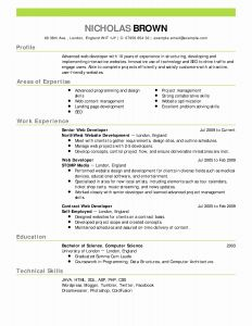 Cs Resume - Puter Science Resume Template Inspirational 12 Lovely S Good