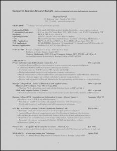 Cs Resume - 21 Things to Include A Resume