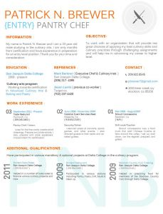Culinary Resume Template - Culinary Resume by Breanna Dollyviantart On Deviantart