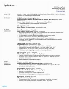 Daycare Resume Template - 10 11 Child Care Teacher Resume Sample