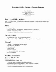 Dental assistant Resume Template Microsoft Word - 28 Elegant Image Dental assistant Resumes Template