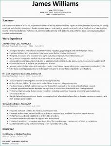 Dental assistant Resume Template Microsoft Word - Curriculum Vitae Sample for Physician assistant Medical assistant