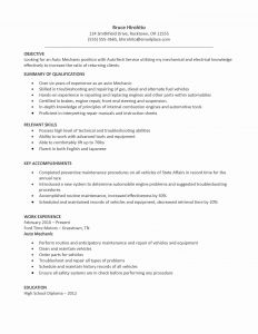 Diesel Engine Mechanic Resume - Master Technician Resume Lovely Surgical Tech Resume Best