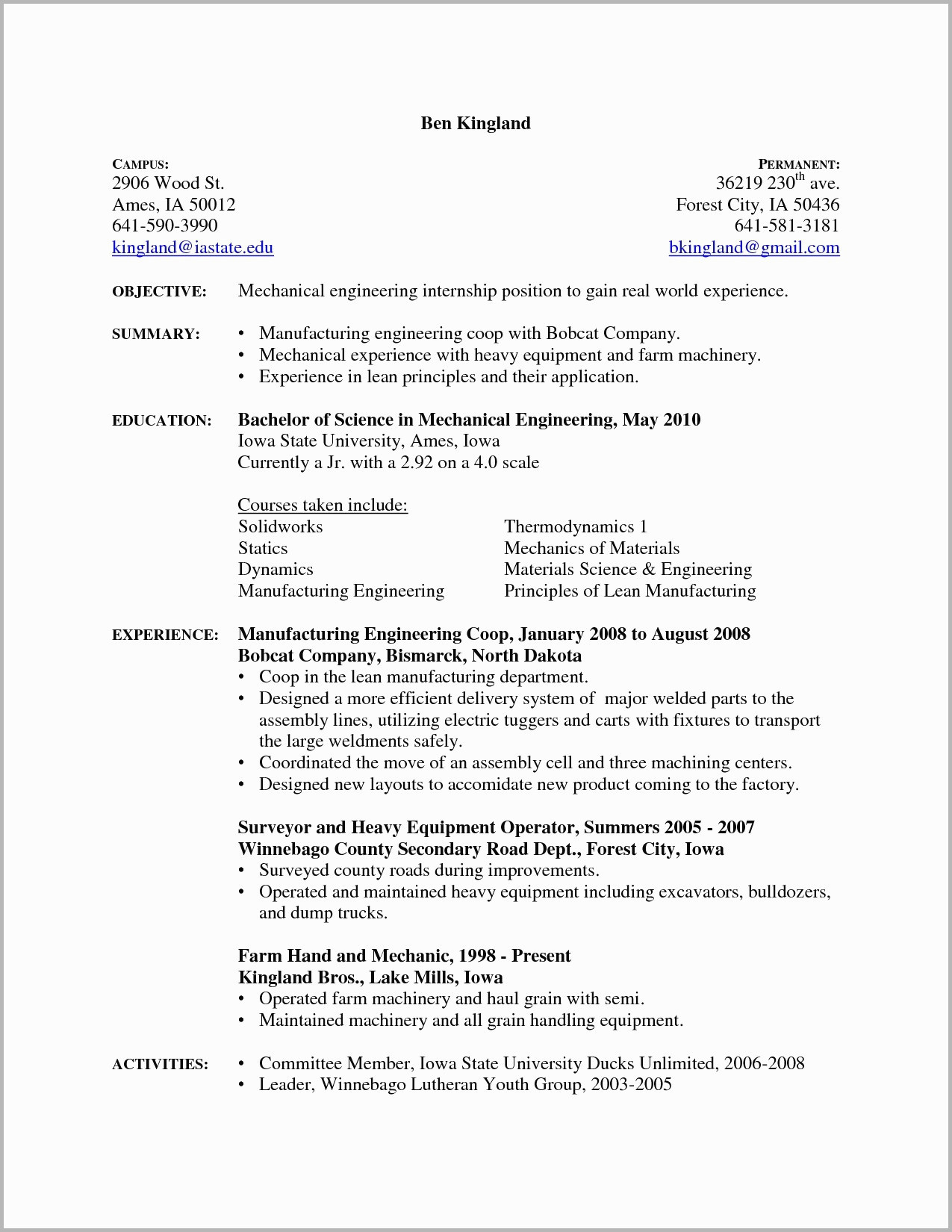 diesel mechanic resume example-Diesel Mechanic Resume Examples 1-c