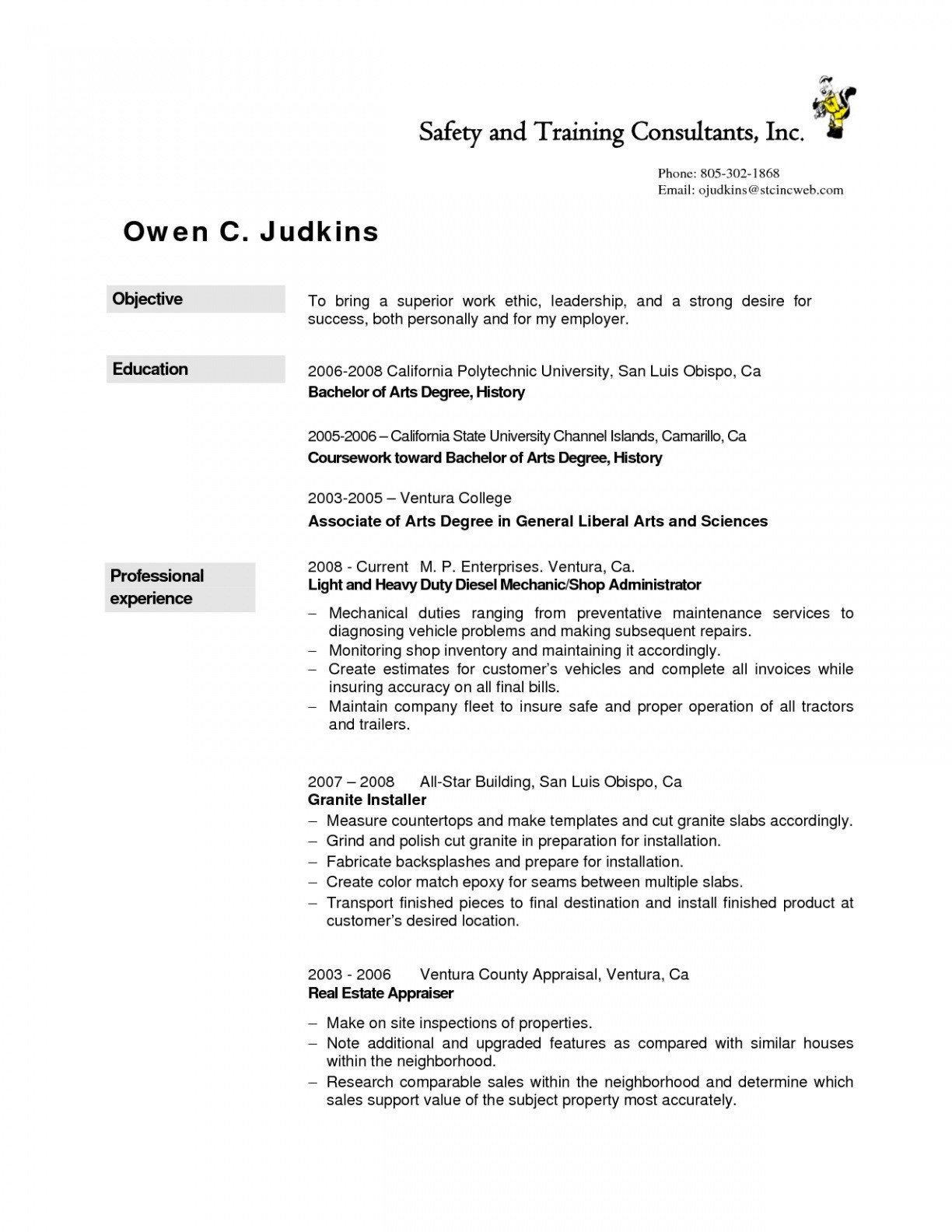 diesel truck mechanic resume Collection-Diesel Mechanic Resume aurelianmg 3-c