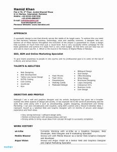 Digital Marketing Resume Template - Web Designer Resume Fresh Pr Resume Template Elegant Dictionary