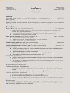 Digital Media Resume - 22 Writing A College Resume