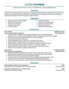 Dispatcher Resume - Dispatcher Resume Objective Examples New Law Enforcement Cover