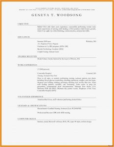 Dj Resume Template Download - Easy Resume Template Free Simple Resume Template Word Lovely