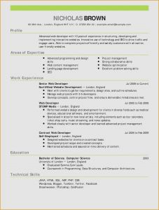 Early Childhood Education Resume Template - Resume for A Server Server Skills Resume Fresh Skills for A Resume