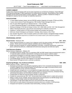 Electronics Engineer Resume - Electrical Engineer Resume Ressume Template Lovely Type Resume