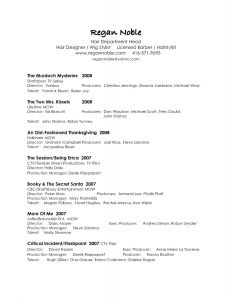 Entertainment Resume Template - 44 Concepts Free Resumes Samples
