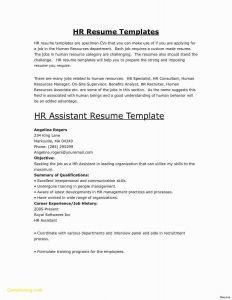 Entertainment Resume Template - New Entertainment Resume Template
