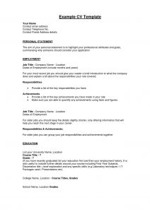 Entrepreneur Resume Template - 22 New How to Write A Profile for A Resume