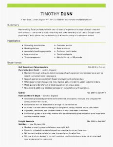 Entry Level Resume - Nature Cover Letter Example New Fix My Resume Lovely Fresh Entry