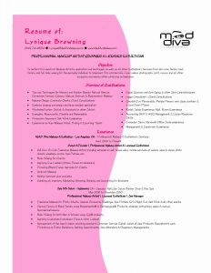 Esthetician Resume Template Download - Esthetician Resume Template