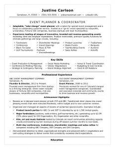 Event Planner Resume Template - event Planner Resume Awesome Freelance event Planner Resume Luxury