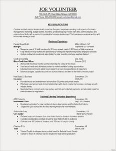 Excellent Resume - Teenage Resume Template Refrence Best Resume for Highschool Students