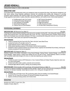 Executive Chef Resume Template - Cook Resume Sample Awesome Executive Chef Resume Berathen Resumes