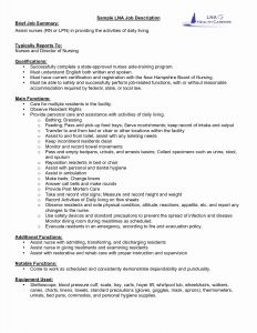 Experienced Nurse Resume Template - Sample Federal Resume Best Federal Resume Awesome Experienced Rn