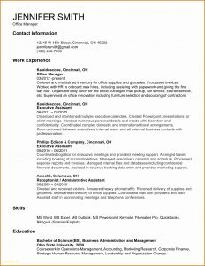 Fashion Resume Template - Microsoft Fice Sample Resume Valid Ms Word Resume Template Fresh