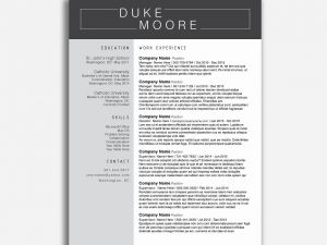Fbi Resume Template - Fbi Resume Template