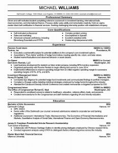 Federal Resume Template 2014 - Government Resume Examples Unique Fresh Government Resume Lovely