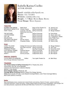 Film Actor Resume Template - Actors Resume Template Unique Child Actor Resume Template Awesome