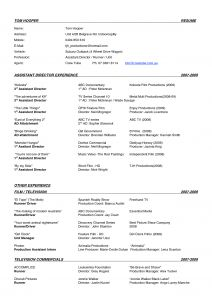 Film Crew Resume Template - Production Resume Enchanting Film Director Resume Sample Photo