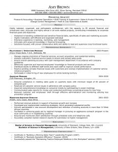 Financial Analyst Resume Template - Senior Financial Analyst Resume Sample Best Lovely Consulting Resume