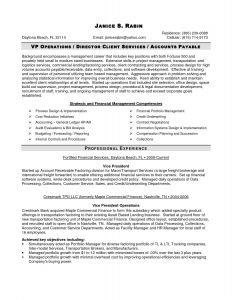 Financial Services Resume Template - 57 Inspirational Generic Resume Template