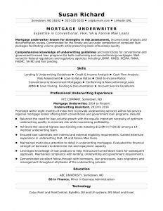 Financial Services Resume Template - 50 Word Resume Template Free