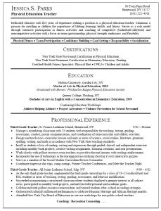 Fitness Resume Template - Examples Teacher Resumes Awesome Elementary Teacher Resume