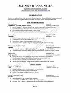 Food Service Resume - Food Service Resume Samples New Food Server Resume Inspirational