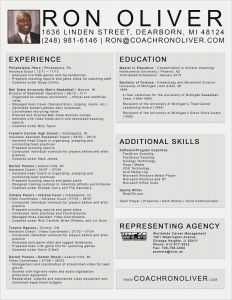 Football Coach Resume Template - College Basketball Coach Resume Refrence Football Coach Resume