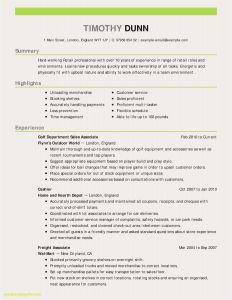 Football Resume Template - Real Resume Examples Download Resume Samples Accounting Valid