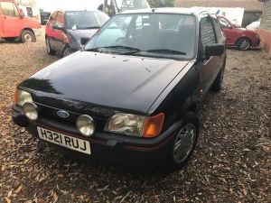Ford Auto Resume - 1991 ford Fiesta 1 6 S One Lady Owner and Only 38k From New