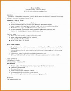 Ford Auto Resume - Parts A Resume Lovely Electrical Engineer Resume Elegant