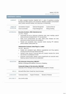Foster Resume Template - Medical assistant Resume Template Free Sample Pdf Executive