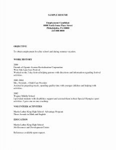 Free Acting Resume Template - theatre Resume Template Fresh Beautiful Make A Resume Basic Resume